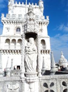Detalhe da Torre de Belém