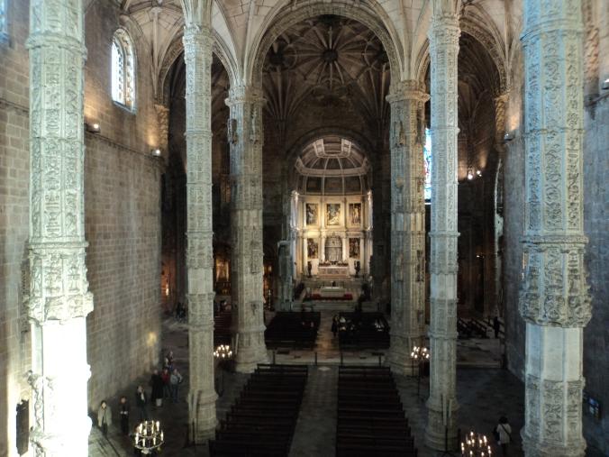 Interior da Igreja do Mosteiro dos Jerônimos