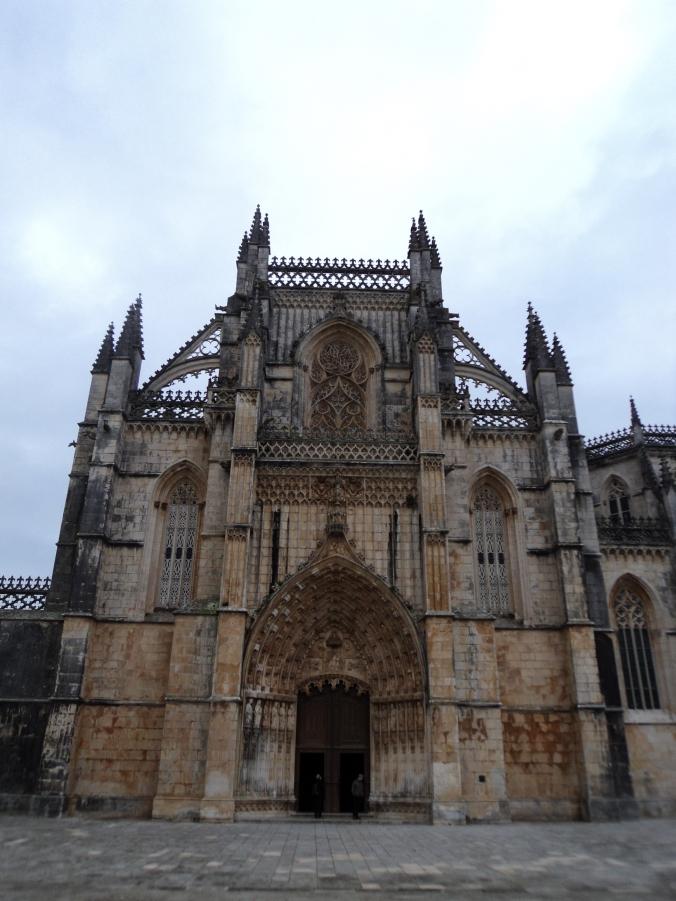 Portal da Igreja do Mosteiro de Batalha.