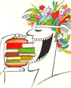 Livros - Ilustração Ziraldo.